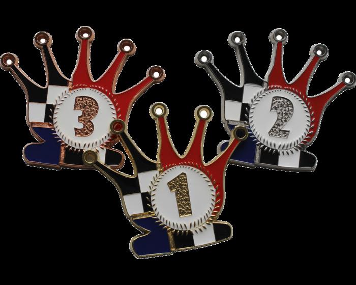 Set of medals Queen