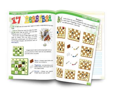 Sjakk: Lett å lære - gøy å spille. Nivå 1 Lærebok 2