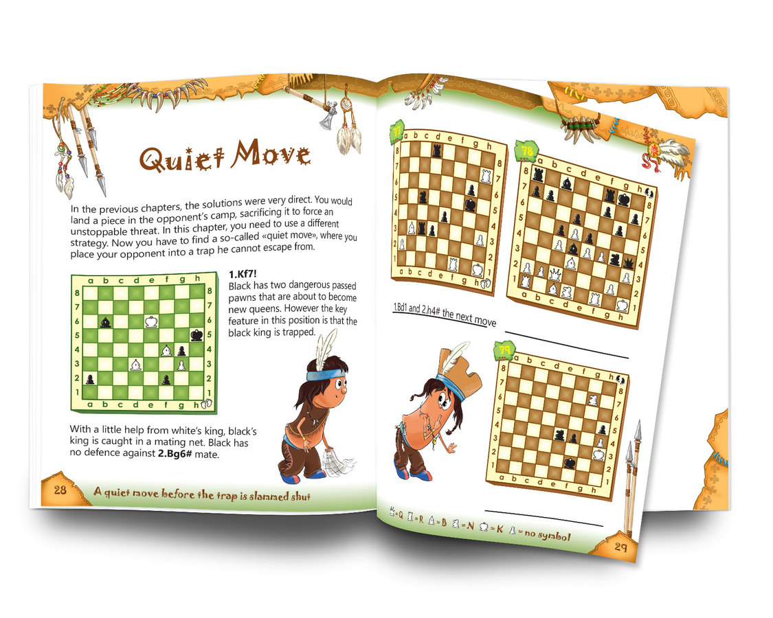 Tactics: Tricks of the Tribes, Workbook Mate in 2 moves