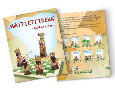 Tactics: Tricks of the Tribes, Set of 8 workbooks (Norwegian)
