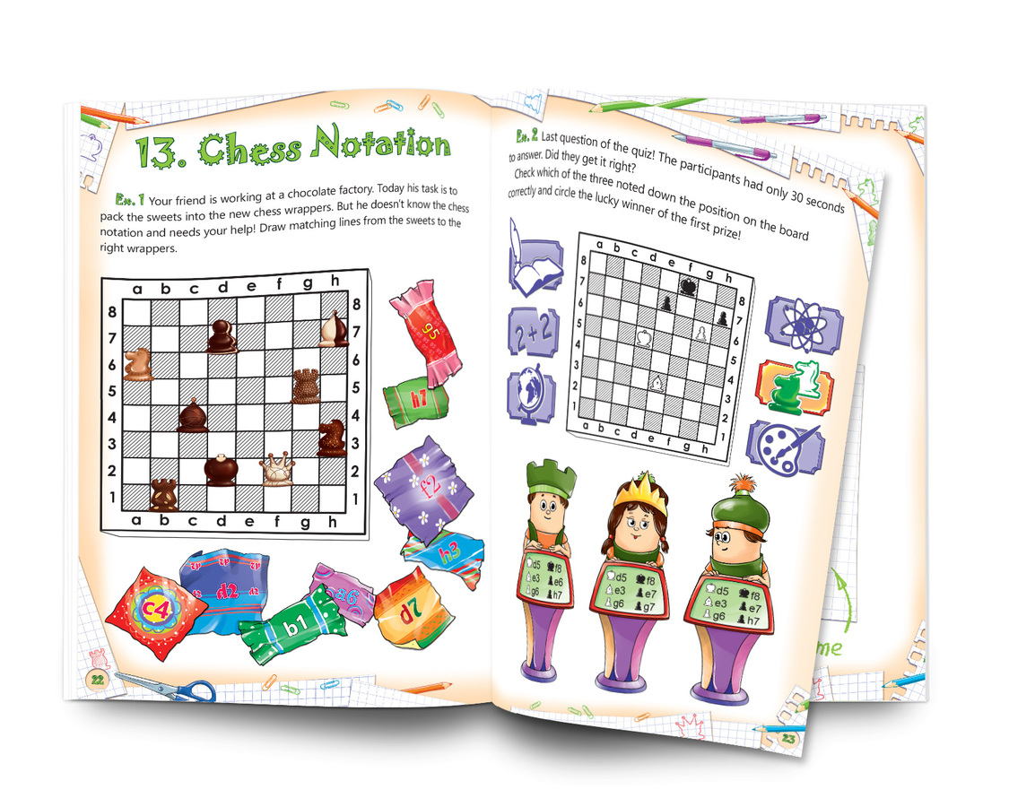 Chess: Easy to Learn - Fun to Play. Level 1 - Workbook 2 The Rules