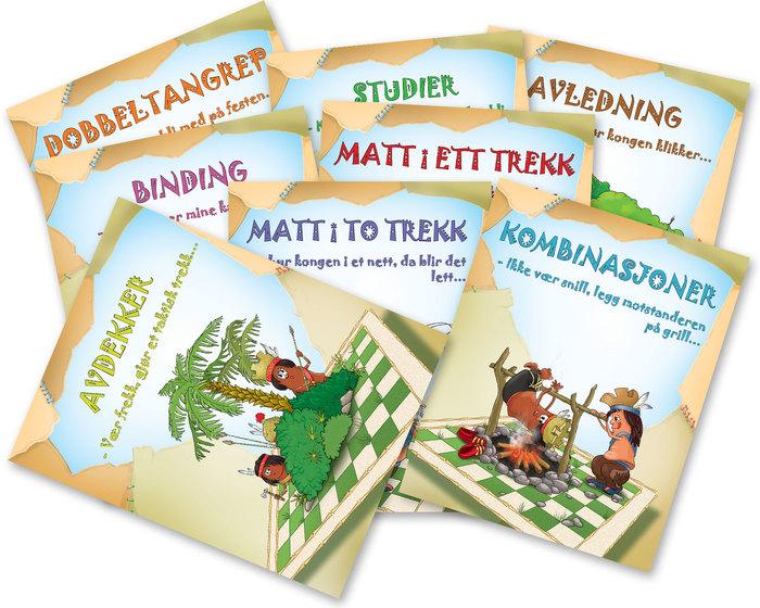 Tactics: Tricks of the Tribes, Set of 8 workbooks (Norwegian)