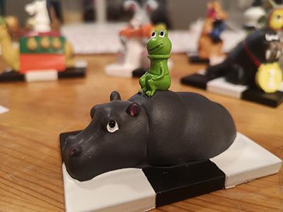 Figurine: Hippo