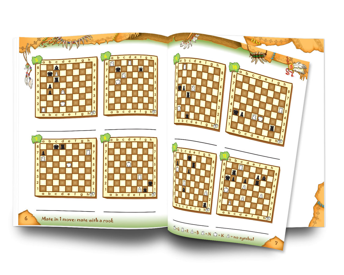 Tactics: Tricks of the Tribes, Workbook Mate in 1 move