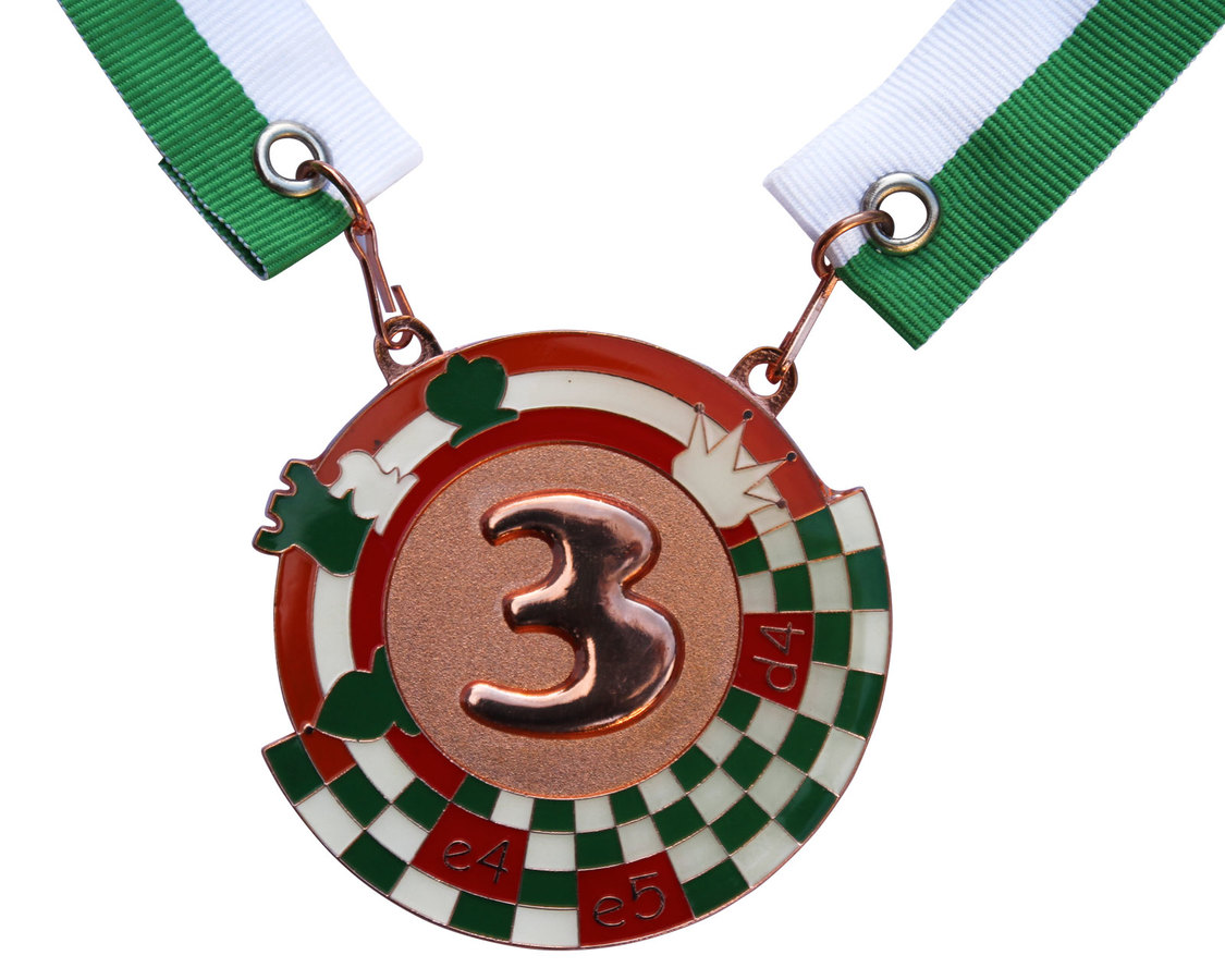 Set of medals Chess