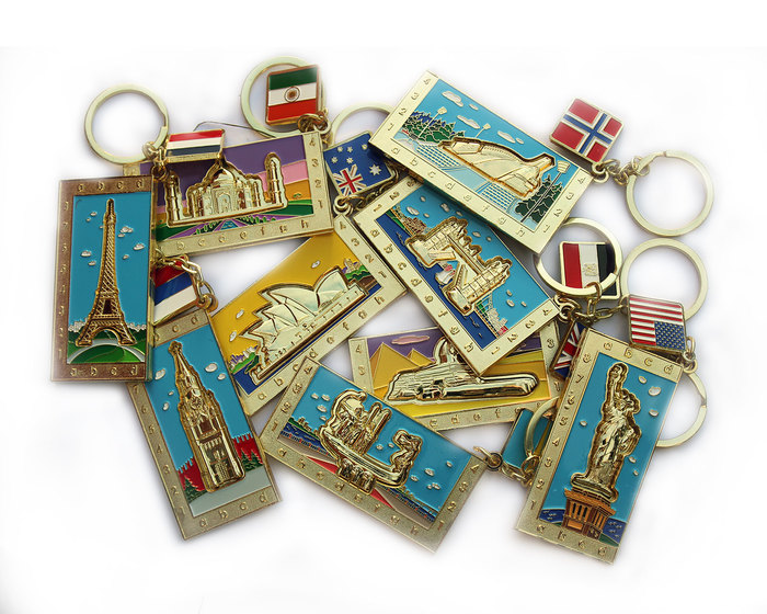 Set of 10 Keyrings